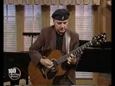 "One of the true masters of acoustic guitar, Phil Keaggy -""Shades of Green"". Altered tuning and double capoed! And I want his guitar! Custom made Olson."