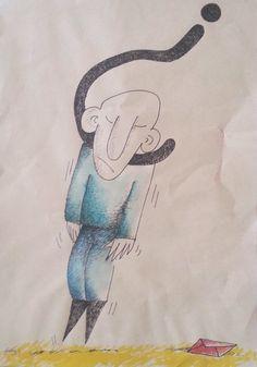 ilk karikaturlerimden..