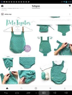 Best 12 Topitos knitted romper for baby – DIY Knitting Pattern and tutorial – SkillOfKing. Baby Patterns, Crochet Patterns, Knitted Baby Clothes, Knitted Romper, Diy Crafts Crochet, Baby Pullover, Quick Knits, Newborn Crochet, Sweater Knitting Patterns