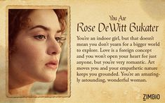 I'm Rose DeWitt Bukater ! Which 'Titanic' character are you? Titanic Movie Facts, Titanic Quotes, Titanic History, Rms Titanic, Titanic Boat, Movie Quotes, Book Quotes, Titanic Behind The Scenes, Titanic Kate Winslet