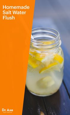 "Need a quick ""master cleanse"" to flush out toxins? Try this DIY salt water cleanse."