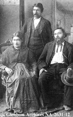 Laderoute family, Metis.   [ca. 1880s]