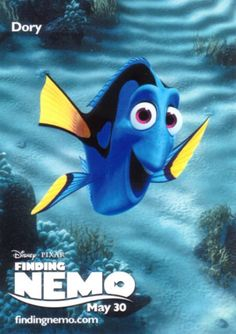 Photo of Dory Finding Nemo Poster for fans of Finding Nemo 1567714 Finding Nemo Poster, Dory Finding Nemo, Tv Show Music, Film Music Books, Love Movie, I Movie, Best Movie Quotes, Smiles And Laughs, Book Tv