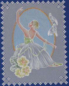 Hand Made Cards - Pretty Ballerina
