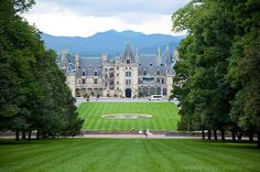 The Biltmore Estate - Just one of the many attractions in Asheville, NC check it out - it's charming, fun and a food, beer and wine mecca!