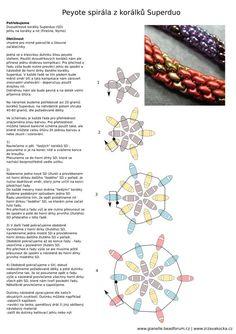 Жгут из бисера супердуо: схема плетения