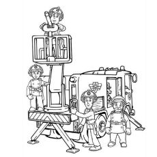 Firefighter Coloring Pages Free Printables Momjunction Fireman Sam Coloring Pages Colouring Pages