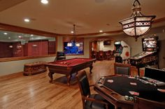 Cool man caves man cave designs cool man caves basement gaming room c Man Cave Designs, Game Room Basement, Man Cave Basement, Basement Ideas, Playroom, Cozy Basement, Basement House, Basement Designs, Basement Bathroom
