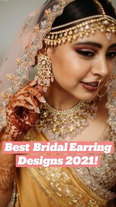 Gold Plated Earrings, Gold Earrings, Gold Jewelry, Jewelery, Earring Trends, Indian Fashion Dresses, Wedding Jewelry Sets, The Chic, Bridal Looks