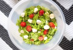 P.S. Never Stop Smiling: Simple mozzarella salad