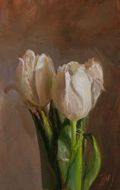 White tulips - Click anywhere outside of the image to close