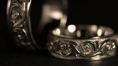 Jewel. White Gold Rings Rotates On A Black Background. 02 #Art, #Brilliant, #Closeup, #Crystal, #Diamond, #Gem, #Gold, #Jewel, #Jewelry, #Kvrzt, #Luxury, #Reflection, #Ring, #Rotation, #Silver, #WhiteGold http://goo.gl/1lx8rk