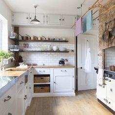 Clever planning has given the owners of this house in North Yorkshire the kitchen of their dreams