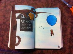 mae-ficient:  Climb up high drop the journal