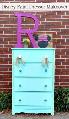 Disney Paint inspiration for a Minnie Mouse room!