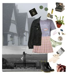 """She won't remember your name"" by sailor-daddygirl666 ❤ liked on Polyvore featuring Boohoo, Chicnova Fashion, La Fée Verte, Dr. Martens, The Row, Ash, American Apparel, Polaroid and BOBBY"