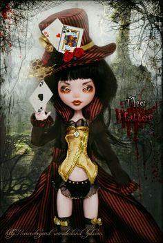 Monster High-Mad Hatter(Draculara)