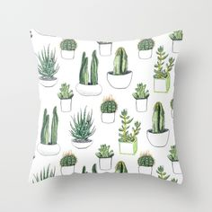 """Throw Pillow Cover made from 100% spun polyester poplin fabric, a stylish statement that will liven up any room. Individually cut and sewn by hand, the pillow cover measures 16"""" x 16"""", features a double-sided print and is finished with a concealed zipper for ease of care"""