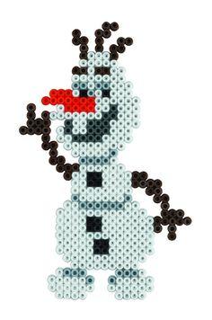 Olaf - Frozen Hama Beads 7946