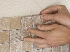 How to install a tile backsplash. Outstanding website. Need this for kitchen...