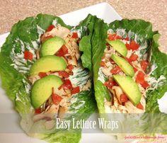 Easy Lettuce Wraps | goldstandardwomen.com