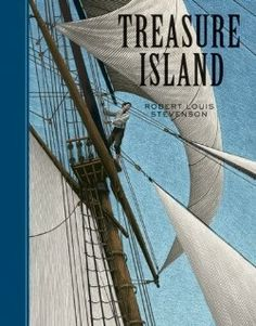 8. Treasure Island | The illustrations for this series were created by Scott McKowen, who, with his wife Christina Poddubiuk, operates Punch & Judy Inc. | NestLearning.com