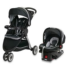 Graco Fast Action Fold Sport Click Connect Travel System in Gotham $280 Buybuybaby