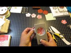 Flower Pot Birthday Card (Stampin Up) - YouTube
