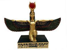 Escultura Egípcio Ísis em Resina - Deusa do Amor - http://www.artesintonia.com.br/escultura-egipcio-isis-em-resina-deusa-do-amor