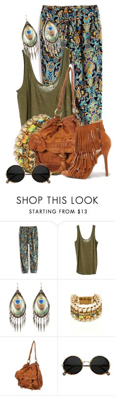"""""""Ethnic Style"""" by sally92 on Polyvore featuring moda, Loft Design By..., Alexis Bittar, Only Child e Wild Diva"""