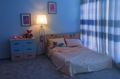 Bed Children Room Interior Stock Photo (Edit Now) 470517113 Blue Room Decor, Blue Rooms, Foam Mattress, Room Interior, Memory Foam, Kids Room, Pillows, Beds, Twin