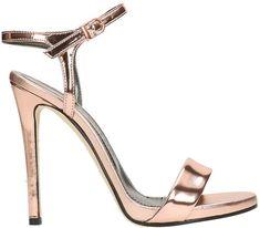 Marc Ellis Mirror Tan Sandals