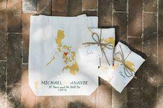 Philippine Map Eco Bag Souvenirs  | Photo: Love Train Studios