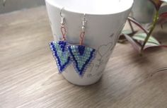 Boucles d'oreilles en perles - DIY