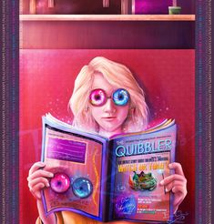 Luna Lovegood: Free Spectrespecs Inside! by Emmanuel-Oquendo on deviantART