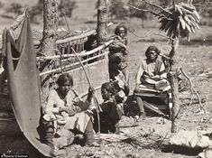 Aboriginal life among the Navajo Indians near old Fort Defiance, New Mexico, USA, 1873 (by Timothy O'Sullivan)