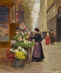 Victor-Gabriel+Gilbert+(French+Academic+Painter,+1847-1933).jpg 583×699 pixels