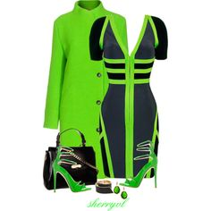 """BE BOLD!!"" by sherryvl on Polyvore"