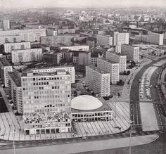 Berlin Karl-Marx-Allee und Alexanderplatz 1971