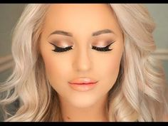 Urban Decay Naked 3 Palette Full Glam Tutorial - YouTube