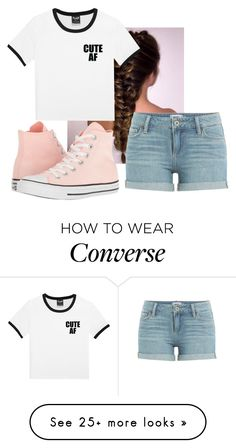"""""""Untitled #293"""" by rubydo2 on Polyvore featuring Paige Denim and Converse"""