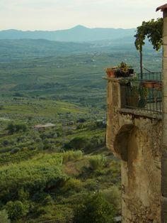 https://flic.kr/p/BpD258 | Guardia Sanframondi | Panorama dei vigneti della Valle Telesina dal centro storico View of the Telesina Valley's vineyards from the old town
