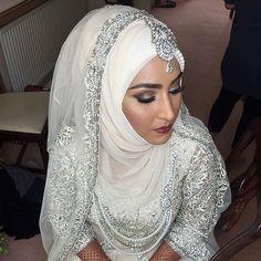 30 sublimes mariées portant le hijab le jour de leur noce - page 5