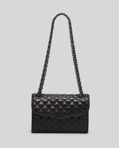 Rebecca Minkoff Shoulder Bag - Exclusive Mini Affair With Gunmetal Tone Hardware | Bloomingdale's
