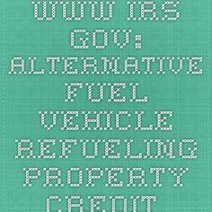 www.irs.gov: Alternative Fuel Vehicle Property Credit