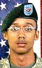 Army SGT Marvin R. Calhoun Jr., 23, of Elkhart, Indiana. Died September 21, 2010, serving during Operation Enduring Freedom. Assigned to 5th Battalion, 101st Combat Aviation Brigade, 101st Airborne Division (Air Assault), Fort Campbell, Kentucky. Died of injuries sustained when the UH-60 Black Hawk helicopter he was a crew member in crashed on a special ops mission during combat operations near Chanaryan village in Daychopan District, Zabul Province Afghanistan.