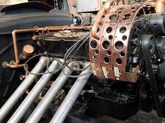 RoadkillCustoms - Stream Trunk Industries Steampunk Rat Rod - Love it or hate it, there is some fine craftsmanship in this ride...