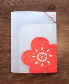 Lotus Blossom File Holder