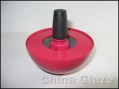 China Glaze on Lady Bug #nailpolish holder