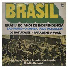 #Brasil – #Federação das #escolas de #samba - #vinil #vinilrecords #temas